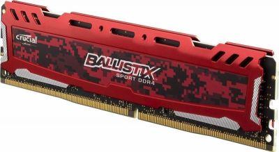 CRUCIAL DDR4 BALLISTIX SPORT LT 16GB 2400MHZ